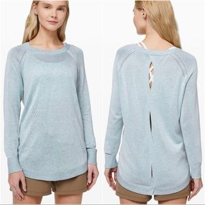 Lululemon Lead with Your Heart Sweater Cashmere